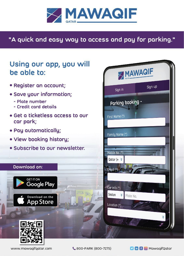 QDVP accelerates digital platform with Mawaqif Qatar App