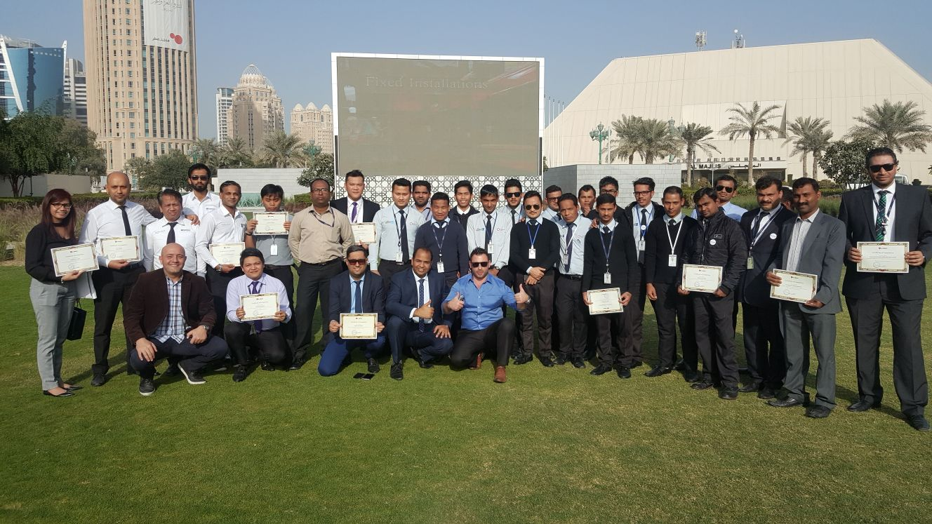 Safety Training Awarding Ceremony