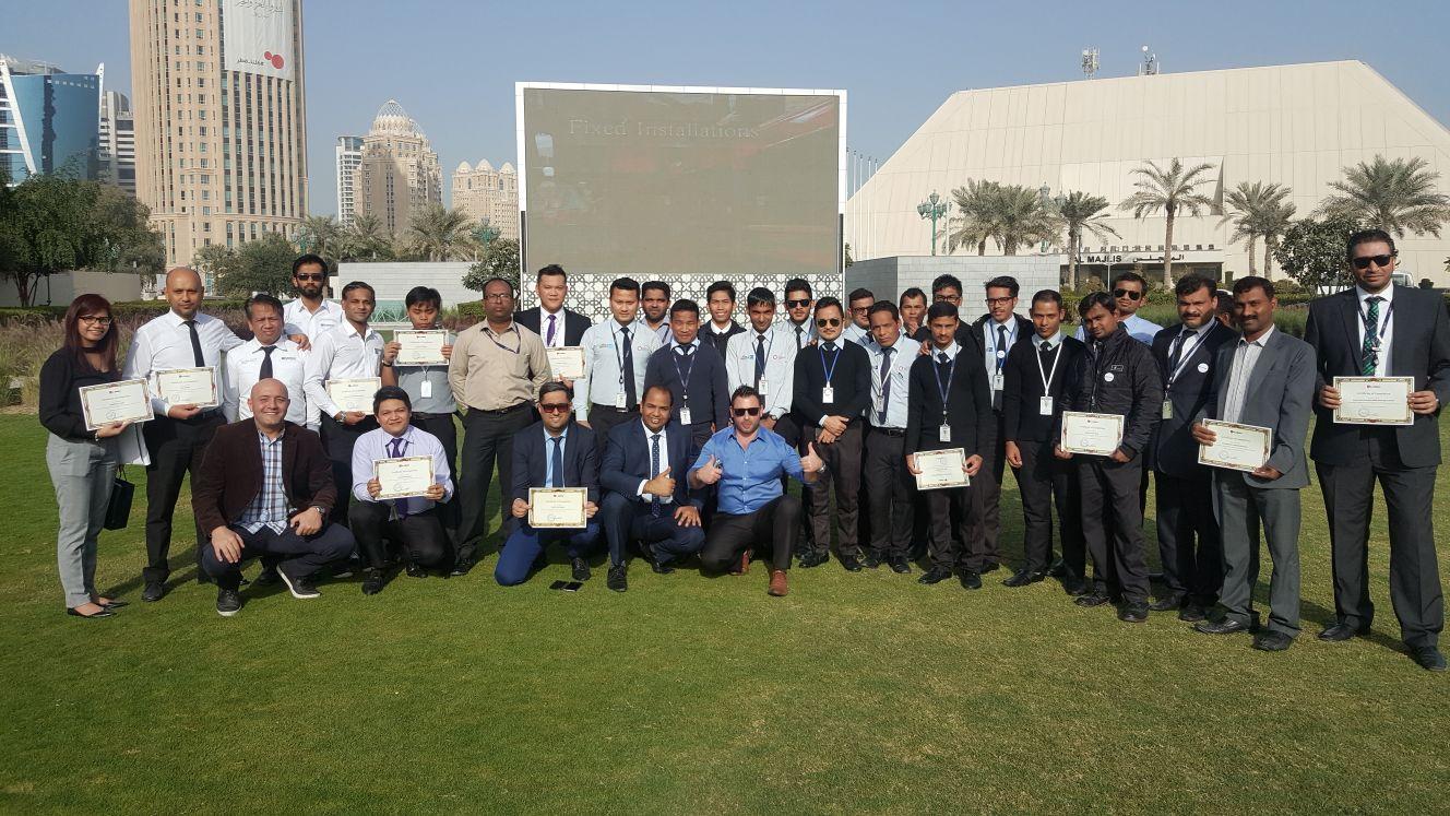Safety Training Awarding Ceremony