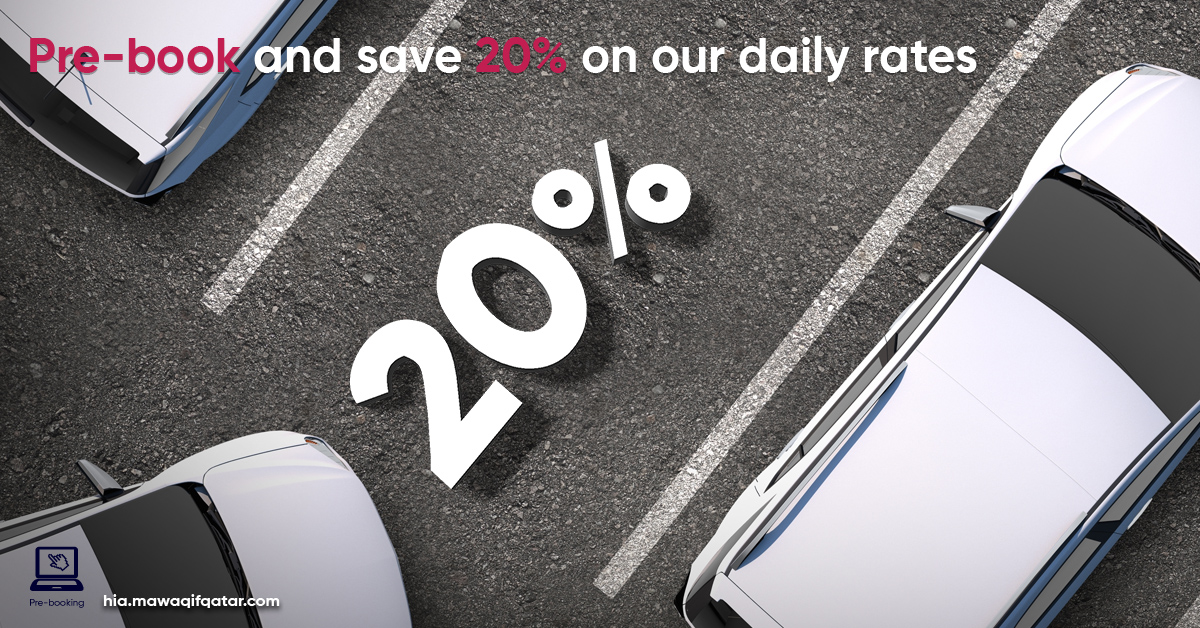 Pre-book & save 20% on our daily rate.